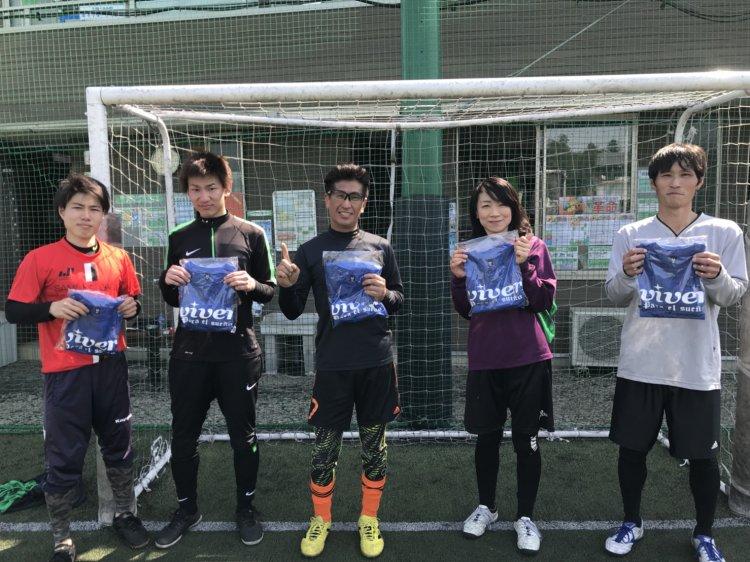 3/25(日)『Viver CUP』第1回個人参加大会